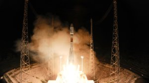 Gaia lifts off from ESA's spaceport in Kourou, French Guiana (credit ESA)